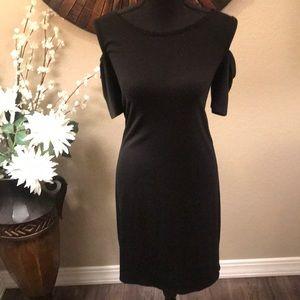 NWOT WHBM Cold Shoulder Dress